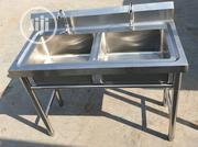 Double Industrial Sink | Restaurant & Catering Equipment for sale in Lagos State, Ojo