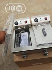 Table Top Electric Deep Fryer 10L X2 With Tap   Kitchen Appliances for sale in Lagos State, Ojo