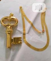 Pure Gold Chain and Key Pendants 18karat   Jewelry for sale in Lagos State, Yaba