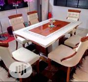 New Smart Cristal Marble Dining Table By-6 | Furniture for sale in Lagos State, Ojodu