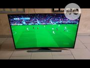Samsung 55 Inches HD 4k Smart Tv With Bluetooth Curved   TV & DVD Equipment for sale in Lagos State