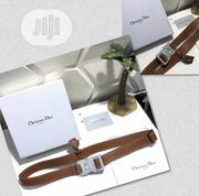 Dior Leather Belt Available | Clothing Accessories for sale in Lagos State, Surulere