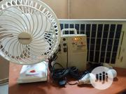 Solar Lighting Kit With Table Fan | Solar Energy for sale in Lagos State, Ikeja