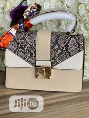 Classic Female Aldo Creamy Handbag | Bags for sale in Lagos State, Victoria Island