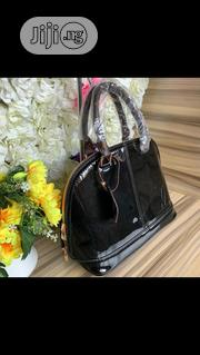 New Female Black Genuine Leather Handbag | Bags for sale in Lagos State, Victoria Island