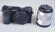 Sony Mirrorless Camera Alpha A6000 With E50mm F1.8 OSS Prime Lens | Photo & Video Cameras for sale in Lagos State, Ikeja