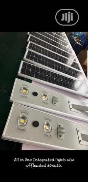60watt All in One Solar Street Light Is Available | Solar Energy for sale in Lagos State, Ojo