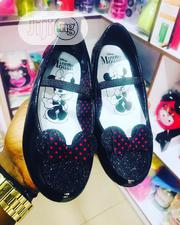 Children Kids Girls Beautiful Black Patent Minnie Mouse Flat Shoes | Children's Shoes for sale in Lagos State, Ikeja