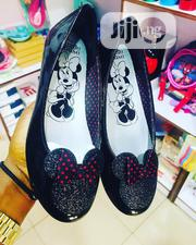 Children Kids Girls Beautiful Black Minnie Mouse Flat Shoes | Children's Shoes for sale in Lagos State, Ikeja