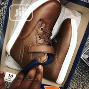 Children Kids Boys Classic Unique Brown High Top Sneakers   Children's Shoes for sale in Lagos State, Ikeja