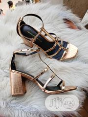 New Classic Female Leather Heel Sandals | Shoes for sale in Lagos State, Victoria Island