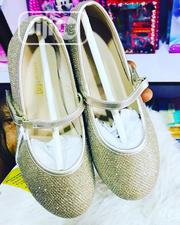 Children Kids Girls Beautiful Dazzling Party Flat Shoes | Children's Shoes for sale in Lagos State, Ikeja
