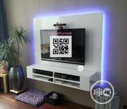 Wall TV Stand,, With LED Lights | TV & DVD Equipment for sale in Lagos State, Lekki Phase 2