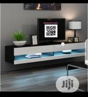 Hanging. Wall TV Stand With LED Lights | TV & DVD Equipment for sale in Lagos State, Ajah