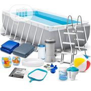 Intex Rectangular Above Ground Pool With Accessories | Sports Equipment for sale in Lagos State, Ibeju