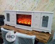 High Quality Imported Fire Plate 7 Feet TV Stand   Furniture for sale in Lagos State, Lekki Phase 1