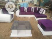 Luxury Sofa With Center Tablr | Furniture for sale in Lagos State, Ikorodu