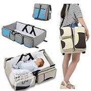 3 In 1 Baby Bed And Diaper Bag | Children's Furniture for sale in Lagos State, Ikeja