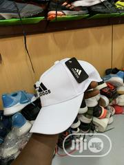 White Adidas Face Cap | Clothing Accessories for sale in Lagos State, Ikoyi