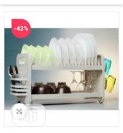 QASA New Rustless 2 Tier Plastic Dish Drainer and Plate Rack | Kitchen & Dining for sale in Lagos State, Ikeja