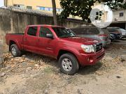 Toyota Tacoma 4x4 Double Cab 2008 Red | Cars for sale in Lagos State, Amuwo-Odofin