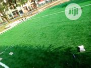 Artificial Green Carpet Grass Installation For Pitchside | Landscaping & Gardening Services for sale in Lagos State, Ikeja