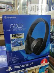 Sony Playstation Gold Wireless Headset | Headphones for sale in Lagos State, Ikeja
