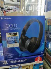 Playstation VR Gold Wireless Headphones | Headphones for sale in Lagos State, Ikeja