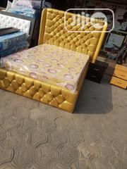 High Bedframe + Bed | Furniture for sale in Lagos State, Ojo