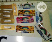 3D Badge And Tag For All Names   Manufacturing Services for sale in Lagos State, Ikorodu