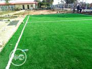 Natural Fake Grass Installation For School Tennis Court | Landscaping & Gardening Services for sale in Lagos State, Ikeja
