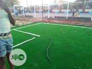 Installation Of Astro Turf Grass On Football Field | Landscaping & Gardening Services for sale in Lagos State, Ikeja
