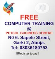 Free Computer Trainning | Computer & IT Services for sale in Abuja (FCT) State, Garki 2