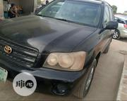 Toyota Highlander 2001 Black | Cars for sale in Lagos State, Alimosho