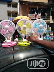 Rechargeable Fan With Led Lights | Home Appliances for sale in Lagos State, Kosofe