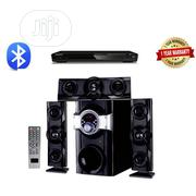 Home Theatre System With Bluetooth + DVD Player Black | Audio & Music Equipment for sale in Lagos State, Amuwo-Odofin