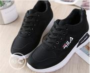 Women Fila Canvas Black. | Shoes for sale in Lagos State, Ojodu