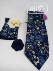 4in One Vintage Ties ,Pocket Sguare , Lapel Rose and Cufflinks | Clothing Accessories for sale in Lagos State, Lagos Island