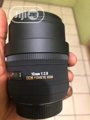 10mm Sigma Fisheye Lens | Photo & Video Cameras for sale in Abuja (FCT) State, Garki 1