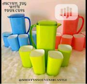 Acrylic Jug And Cups | Kitchen & Dining for sale in Lagos State