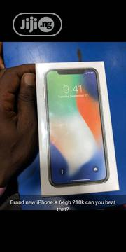 New Apple iPhone X 64 GB Silver | Mobile Phones for sale in Edo State, Benin City