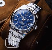 New Rolex Sky-Dweller Silver Blue Dial Wristwatch / Wrist Watch | Watches for sale in Lagos State, Ikeja