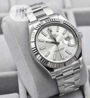 New Silver Rolex Oyster Perpetual Date Just Wristwatch / Wrist Watch | Watches for sale in Lagos State, Ikeja