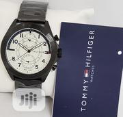New Tommy Hilfiger White Dial Wristwatch / Wrist Watch | Watches for sale in Lagos State, Ikeja