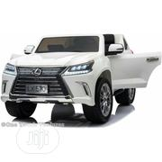 Double Seat Ride on for Kids Lexus White LX570 | Toys for sale in Lagos State, Ikoyi