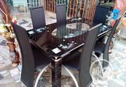 5fit Culve Dinning Table With 6 Chairs   Furniture for sale in Lagos State, Ifako-Ijaiye