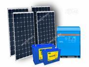 3.5KVA Inverter With Solar 250 Watt Panel 200AH Battery | Solar Energy for sale in Lagos State, Ikeja