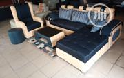 L-Shaped Sofa With Royal Single Chair and Center Table | Furniture for sale in Lagos State, Lagos Mainland
