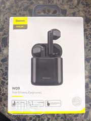 Baseus TWS W09 Wireless Bluetooth Headset | Headphones for sale in Lagos State, Surulere