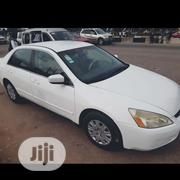 Honda Accord 2003 Automatic White | Cars for sale in Edo State, Egor